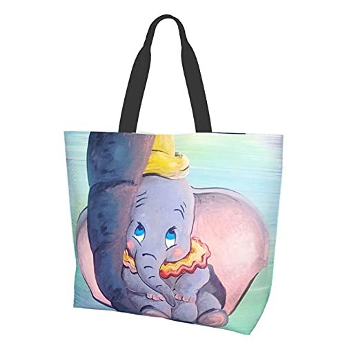 Bolsa de hombro Dumbo Being Held By His Mother Trunk Bolsa d
