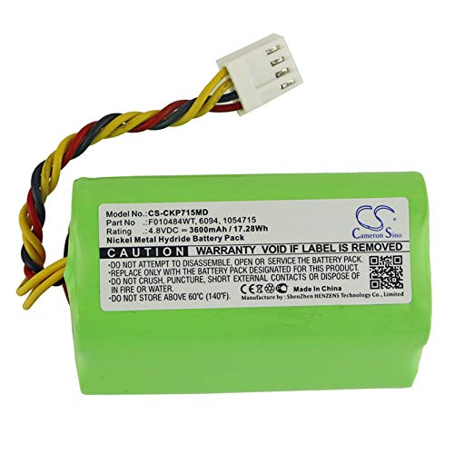 KML Battery for Covidien 1054715 6094 F010484WT Kangaroo ePump Enteral Feeding Pumps