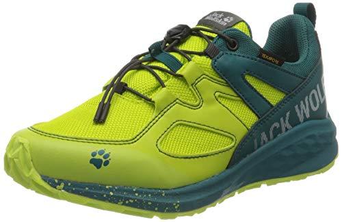 Jack Wolfskin Unleash 2 Speed Texapore Low K Walking-Schuh, Lime/Dark Green, 38 EU