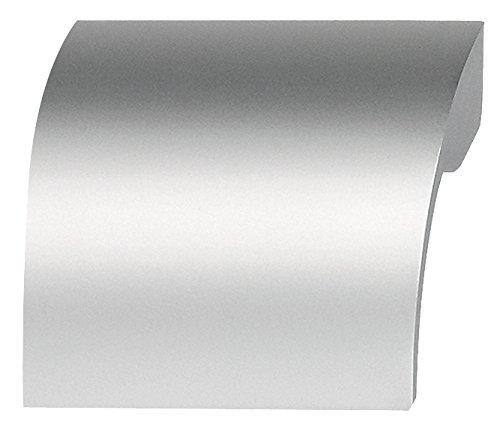 Design Schubladengriff Aluminium Griffleiste Küche Möbelgriff silber eloxiert - Modell H3508 | Bohrabstand 32 mm | Griffmulde aus Alu | Möbelbeschläge von GedoTec®