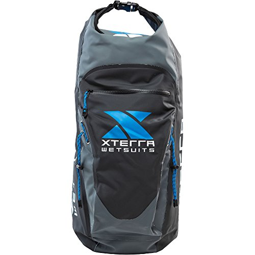 XTERRA WETSUITS Waterproof Backpack with Roll Top Closure, Protects Your Gear from the Elements