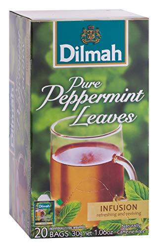 Dilmah Pure Pepermunt Gezondheid, 20 Stuk, 20 Units