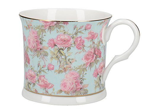CREATIVE TOPS Tasse Fine Bone China Rose Queen-Beiner Palace