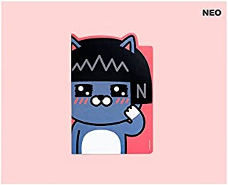 Kakao Talk Kakao Friends Die-Cut A5 Lined School Notebook Note Pad (Neo)