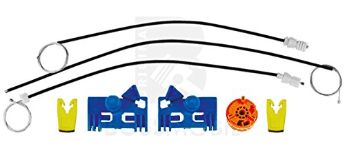 Original Bossmobil LAGUNA II (BG0/1_), LAGUNA II Grandtour (KG0/1_),Vorne Links, Fensterheber-Reparatursatz