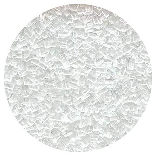 White Coarse Sugar Crystals - 4 ounces