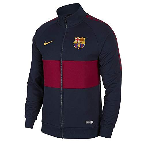 Nike 2019-2020 Barcellona I96 Giacca (Obsidian), Uomo, Marina Militare, XL 46-48' petto (112-124 cm)