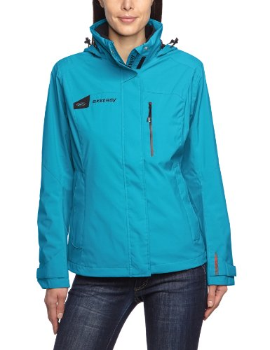 Exxtasy Damen Outdoorjacke Terre, Hawaii, 36, 1206243460