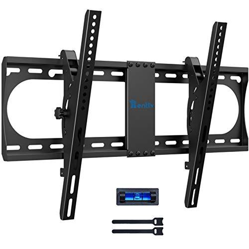 TV Wandhalterung, Neigbar TV Halterung für die meisten 37-70 Zoll Fernseher, Universale Neigbare TV Wand Halterung mit Einer Belastung von 60 kg & maximal VESA 600x400mm