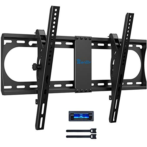 Soporte de Pared para TV, Soporte Inclinable de TV para la Mayoría de Televisores de 37-70 Pulgadas, Soporte Inclinable de Pared de TV Universal con Capacidad de 60kg y VESA Máximo de 600x400 mm