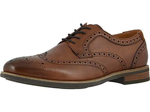 Florsheim Men s Uptown Wing Tip Oxford  Cognac Leather/Suede  11