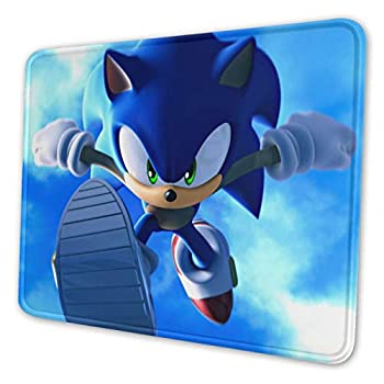 Sonic The Hedgehog Mouse Pad Comic Mouse Pad for Kids HD Printed Mouse Pad