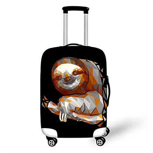 Surwin 3D Elastica Proteggi Valigia Suitcase Luggage Cover Coperchio di Protezione Antipolvere Lavabile Copertura Viaggio Proteggi Bagagli Coprire (Rami bradipo 9,M (22-24 pollici))