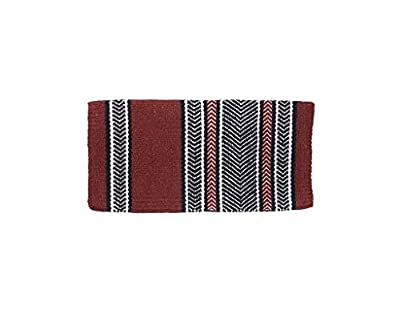 Tough 1 4 lb Wool Saddle Blanket Diamonds Design