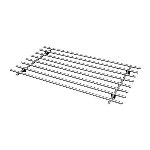 IKEA LAMPLIG - Trivet, stainless steel - 50x28 cm by Ikea