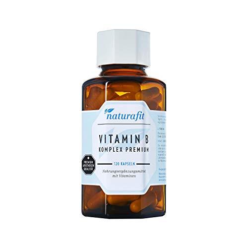 naturafit Vitamin B Komplex Premium Kapseln, 120 St. Kapseln