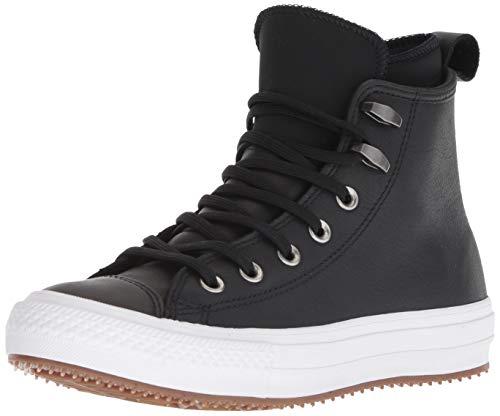 Converse 557944C ,CHUCK TAYLOR ALL STAR WP BOOT , Damen Hohe Sneaker, Schwarz (Black/Black/White), 39 EU (6 UK)