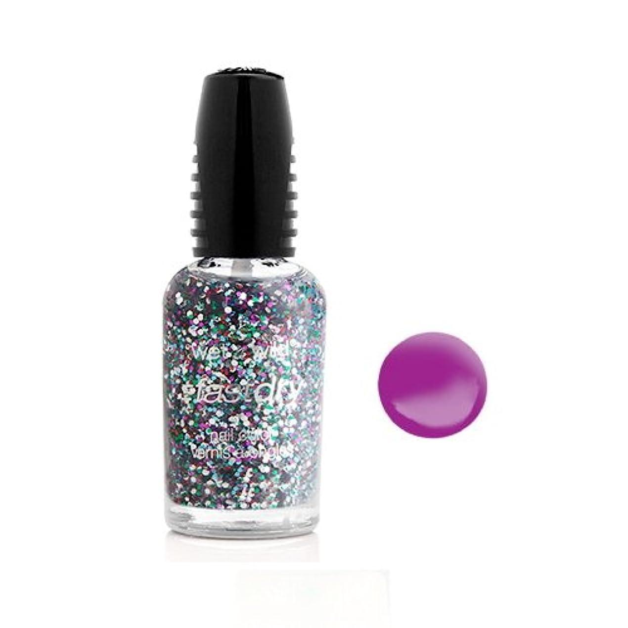 着服味わう倍増(6 Pack) WET N WILD Fastdry Nail Color - FuchsiaRama (DC) (並行輸入品)