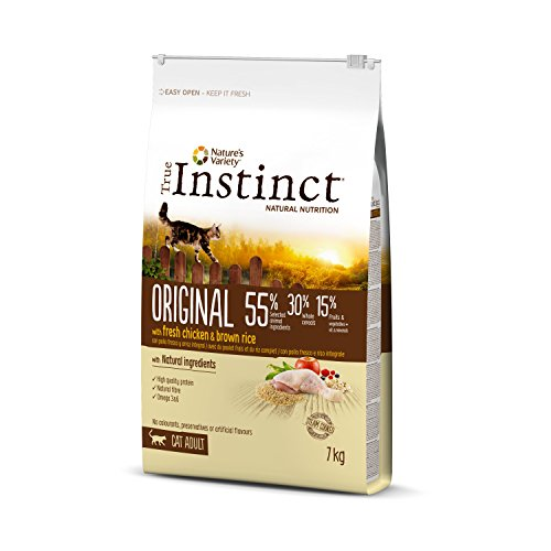 True Instinct Original - Nature's Variety - Pienso para Gato Adulto con Pollo - 7kg