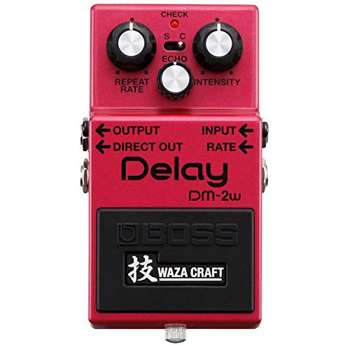 Boss DM-2w Delay Waza - Dispositivo de efectos y pedal EV-5 Expression