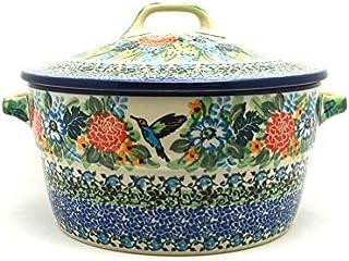Polish Pottery Baker - Round Covered Casserole - Unikat Signature - U3271