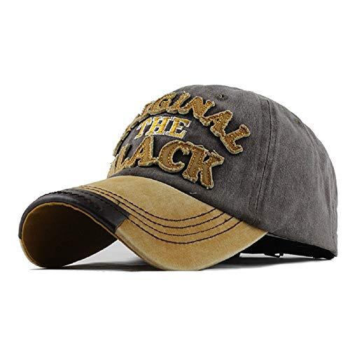 Yutdeng Cappello Unisex Cotone Berretto da Baseball Berretto Uomo Estivo Unisex Ricamato Cappello Vintage Hat Baseball Regolabile Hip Hop Casuali Cappellino Moto