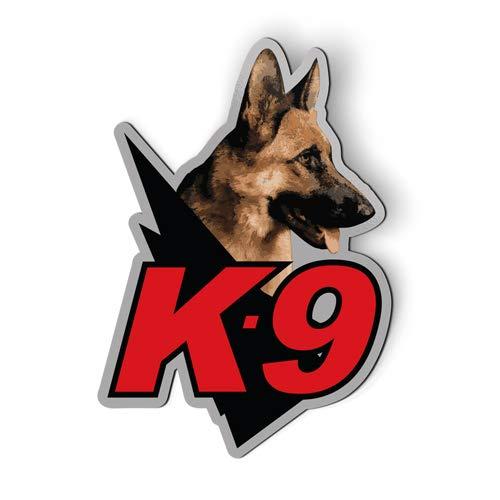 Stickers & Tees K9 Unit Police Dog K-9 - Car Magnet - 6'