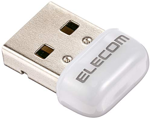 エレコム Wi-Fi 無線LAN 子機 433Mbps 11ac/n/a 5GHz専用 USB2.0 コンパクトモデル ホワイト WDC-433SU2M2WH