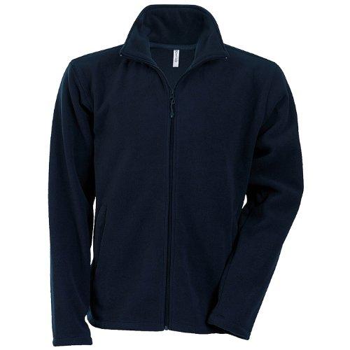 Kariban Herren Anti-Pilling-Fleece-Jacke mit durchgehendem Reißverschluss (Large) (Marineblau)