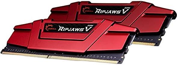 G.Skill Ripjaws V Series 16GB (2 x 8GB) 288-Pin DDR4 SDRAM DDR4 2666 Desktop Memory Model F4-2666C15D-16GVR