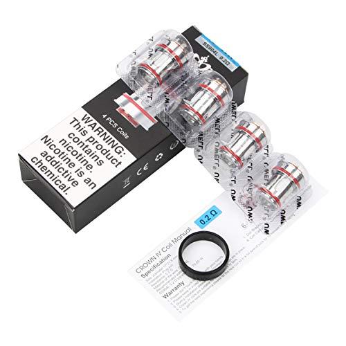 UWELL CROWN IV 0,2 Ohm Dual-SS904L-Spule, kompatibel mit CROWN IV-Tank -0,2 Ohm