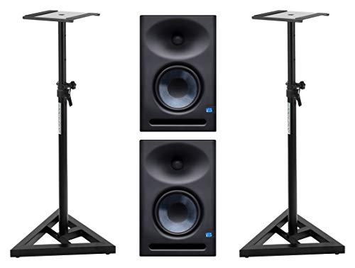 Presonus Eris E7 XT Aktives Studiomonitor Set inkl. Boxenstativen