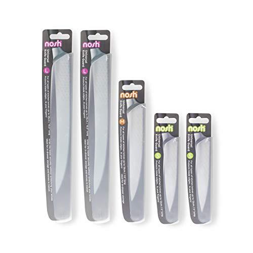 Fundas protectora para cuchillos - conjunto de 5 piezas, translúcido
