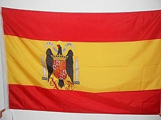 Spain Under Franco 1938–1945 Flag 3' x 5' for a Pole - Francoist Spanish Flags 90 x 150 cm - Banner 3x5 ft with Hole - AZ ...