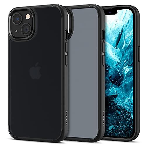 Spigen Funda Ultra Hybrid Matte Compatible con iPhone 13 Mini - Negro Escarchado
