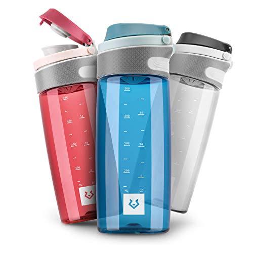 Alphatrail Botella Agua Tritan Jay 550ml Azul I 100% Prueba de Fugas I sin BPA & Ecológicamente I Seguro Lavavajillas I para una hidratación óptima en la Vida Diaria