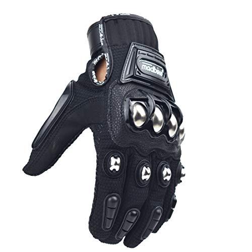 Guante de moto de carreras Madbike, protección de aleación de acero