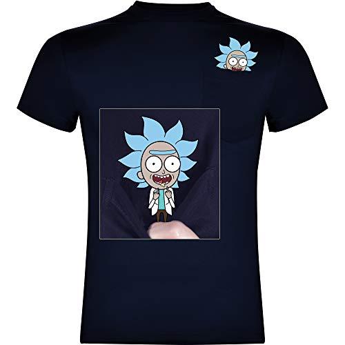 Foreverdai Camiseta Fan Art Tiny Rick...