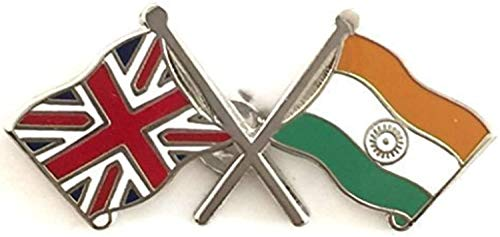Matfords Indianer- und Großbritannien-Freundschafts-Flagge, britische Flagge und die Flagge von Indien – Flagge