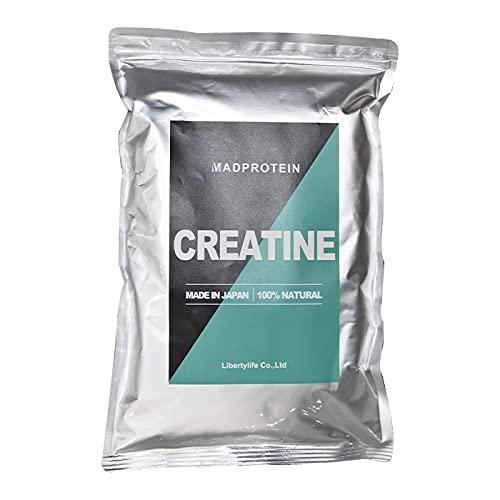 クレアチンモノハイドレートパウダー 粉末 国内製造 【MADPROTEIN】マッドプロテイン… (1kg)