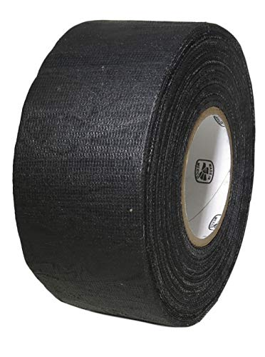 T.R.U. CFT-15 Black Gaze Cotton Cloth Friction Tape with Non-Corrosive Rubber Resin Adhesive.60 Ft. (1.5 in.)