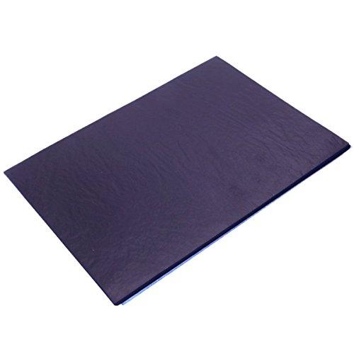 RanDal 100Pcs Blue Carbon Hand Copier Stencil Transfer Paper Hectograph 18.5X25.5Cm