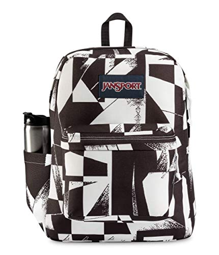 JanSport Superbreak Backpack - Lightweight School Pack, Vector Lines