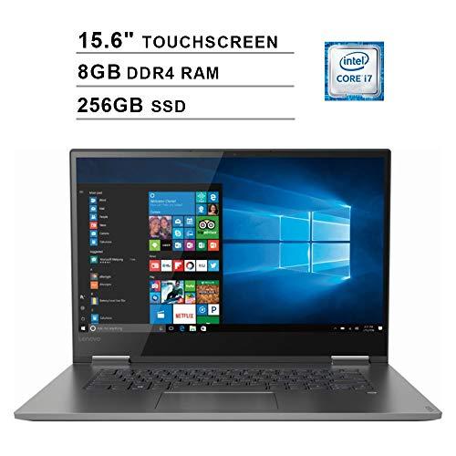 2020 Premium Flagship Lenovo Yoga 730 15.6 Inch FHD 2-in-1 IPS Touchscreen Laptop (Intel Core i7-8550U up to 4GHz, 8GB RAM, 256GB SSD, USB 3.0, JBL Speakers, Bluetooth, WiFi, Windows 10)