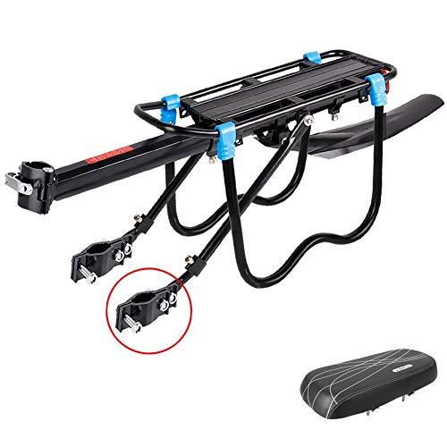 N / A HJWMM Durable Portaequipajes Biciclet, Ajustable Portabicicletas con Guardabarros y...