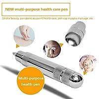 鍼、ポータブルセキュリティメリディアンエネルギーパルスマッサージペン使いやすいAcupointメリディアンエネルギーペン美容、健康、目のマッサージ