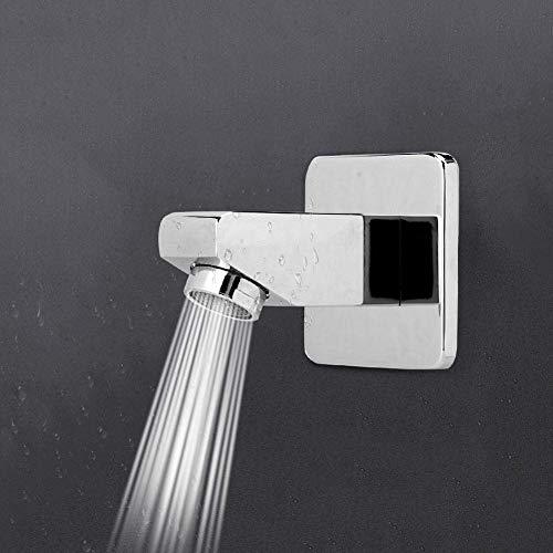 Grifo de ducha Caño G1 / 2in Rosca Cobre Forma cuadrada Instalación oculta Accesorios de ducha Herramienta para el hogar