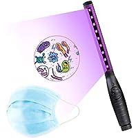 Lámpara de Desinfección Ultravioleta, Lámpara germicida ultravioleta portátil, USB Desinfección UV Lámpara sin Químicos para para el Hogar Hotel Armario Coche Mascota Viaje de ICARE