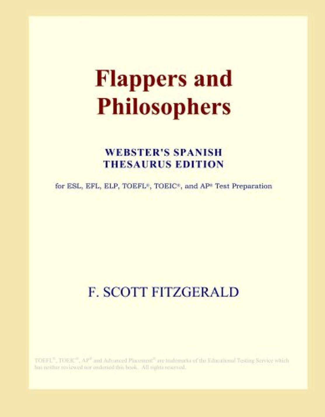ユーモア不安雨のFlappers and Philosophers (Webster's Spanish Thesaurus Edition)