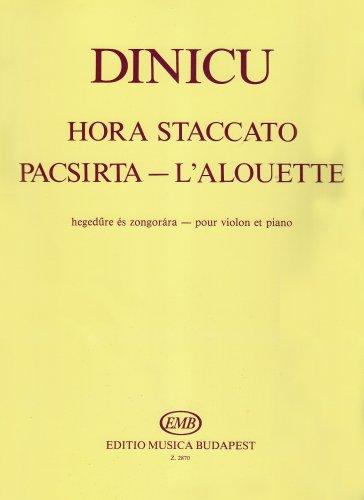 Hora Staccato/die Lerche. Violine, Klavier